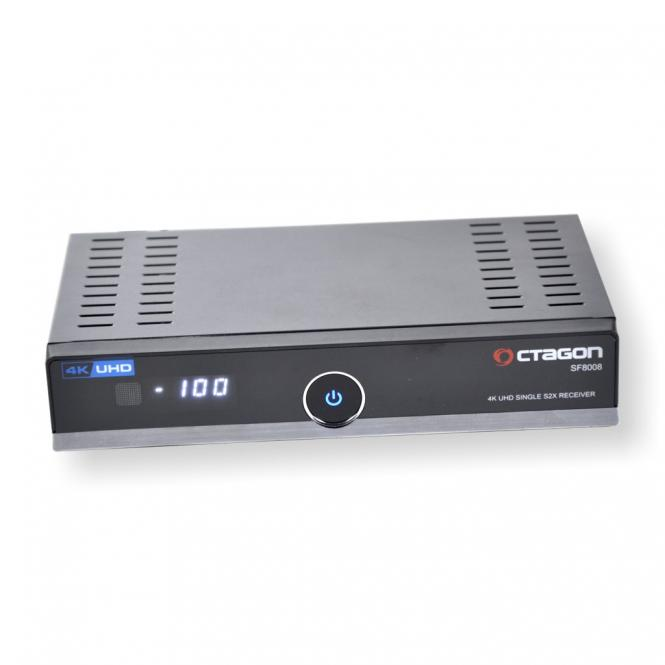 OCTAGON SF8008 4K UHD E2 Single S2X Receiver