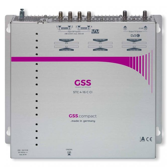 GSS.compact STC 4-16 CT CI