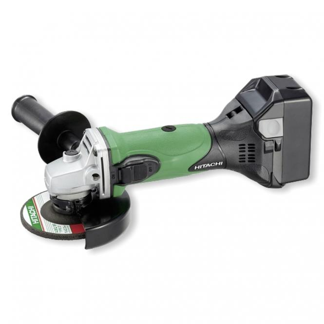 Hitachi G18 DSL<br> 4.0 AH battery<br>angle grinder
